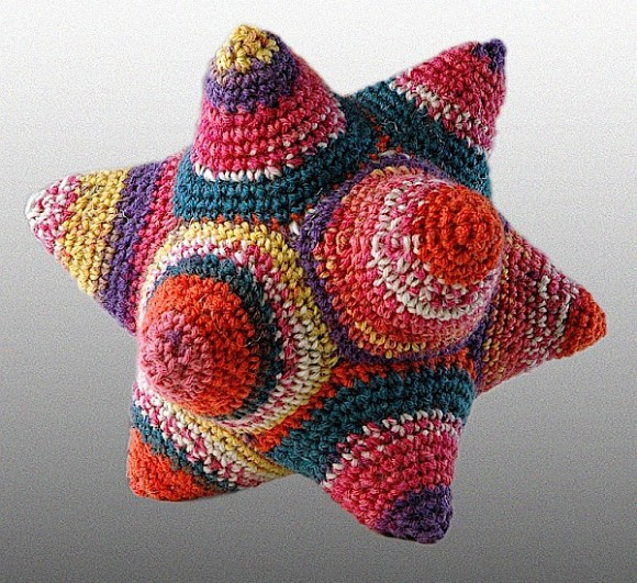 A DODECAHEDRON.