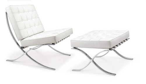 The Barcelona Chair from Mies Van Der Rohe