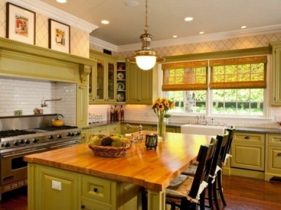 cheerful-summer-interiors-green-and-yellow-kitchen-designs-4