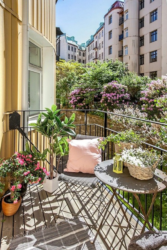 Apartment balcony boho: boho patio makeover power of paint. boho ...