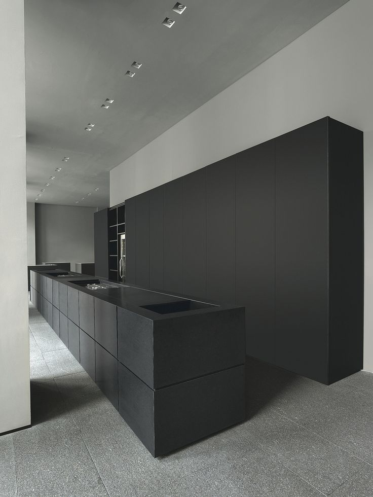 Black update for a kitchen