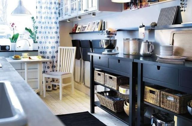 02-double-Norden-sideboard-used-as-a-cooking-station