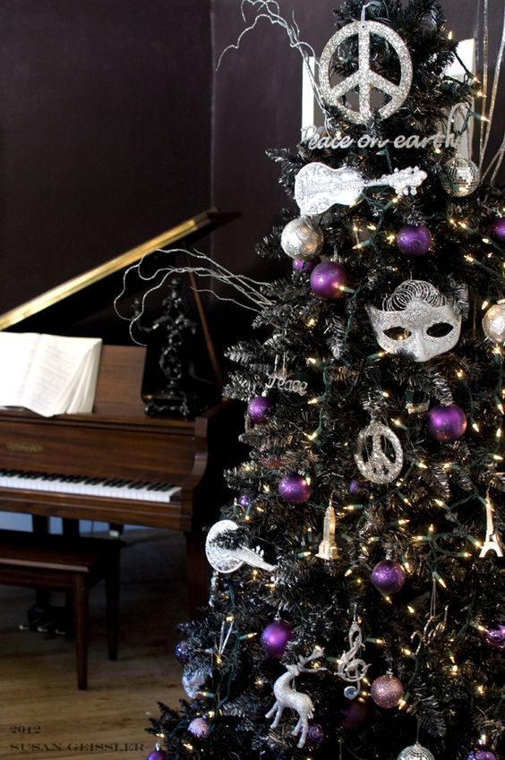 03-a-black-tree-with-whimsy-decor-and-silver-and-purple-ornaments