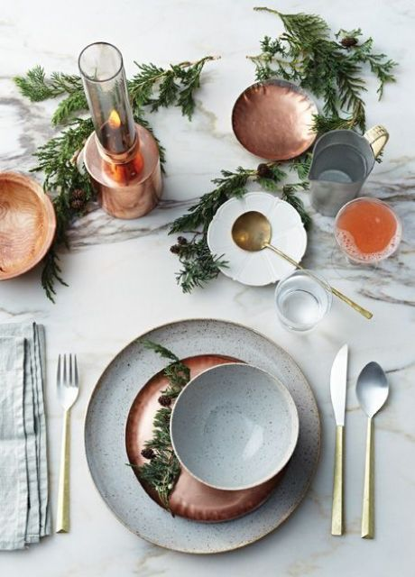 16-copper-chargers-plates-and-candle-holders