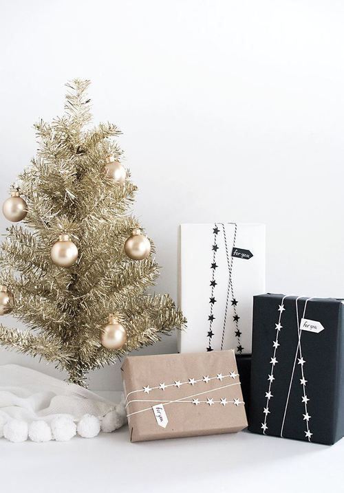 28-gold-tabletop-tree-with-gold-ornaments-and-monochrome-gifts