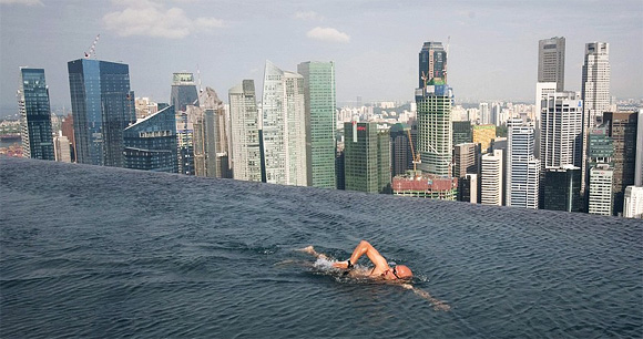 Бассейн в Marina Bay Sands