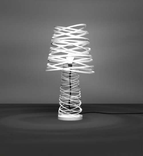 Curl My Light Lamp by Dima Loginoff