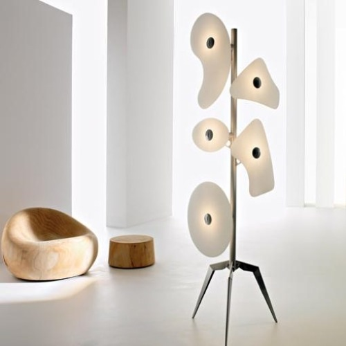 Abstract Lamp from Y Lighting