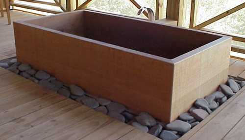 Japanese Ofuro Tub by RH Tubs
