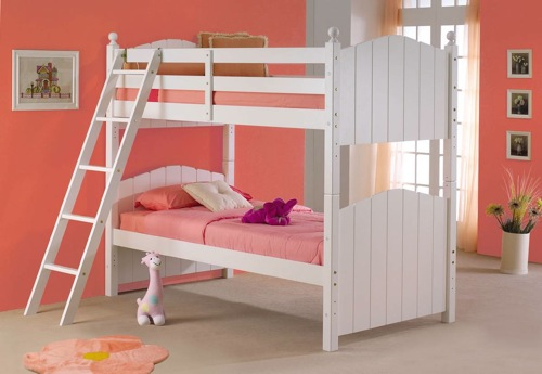 Cape Cod White Bunk Bed by Powell