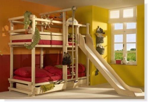 Play Bunk Bed with Slide from Woodland
