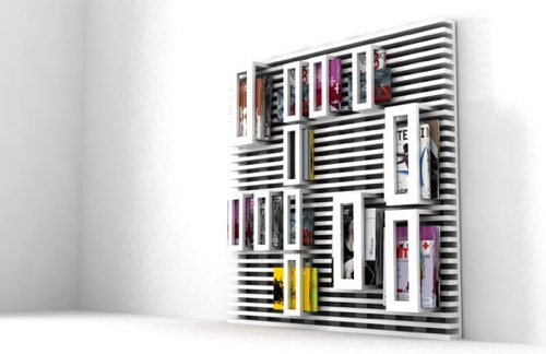 Pallet Magazine Rack by Flavia Dalla Pellegrina
