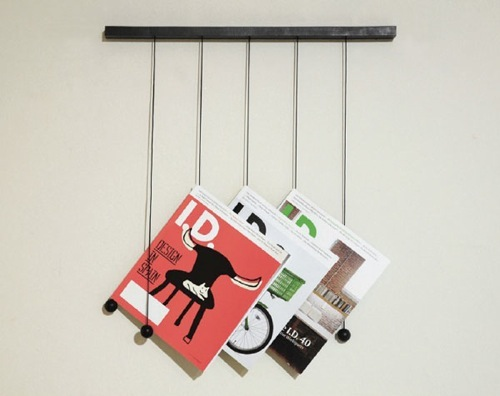 Hanging Magazine Rack from Isaac Chen