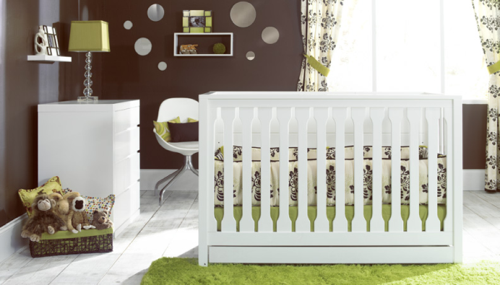The Cube Crib from Baby's Dream