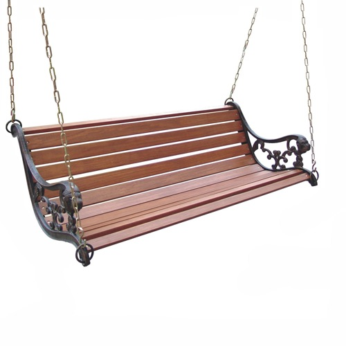 DC America 4-ft Lion Metal Porch Swing