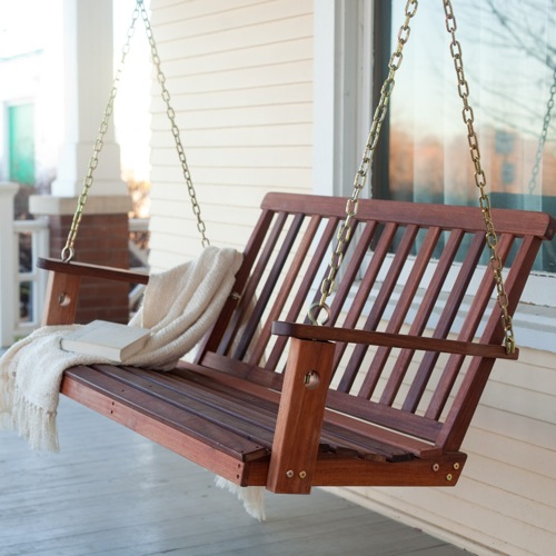 Hamilton Mahogany Porch Swing