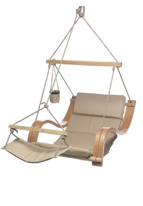 Ivory Lounger by Air Chair USA