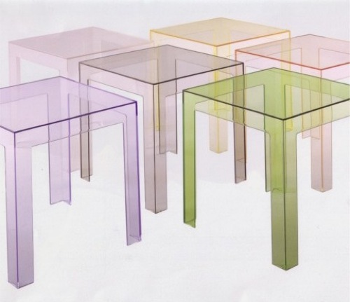 Jolly Side Tables by Kartell