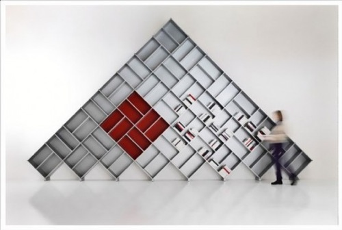 Pyramid Modular Bookcase by Fitting