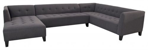 The Riley Extra Large Sectional Chaise by IO Metro