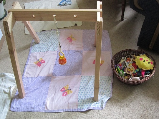 DIY Wooden Infant Toy Arch: Jack in CT
