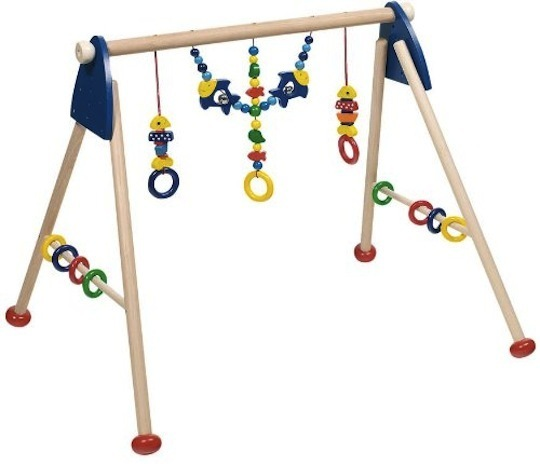Eco-Friendly Wooden Baby Gym: Heimess ($114.43)