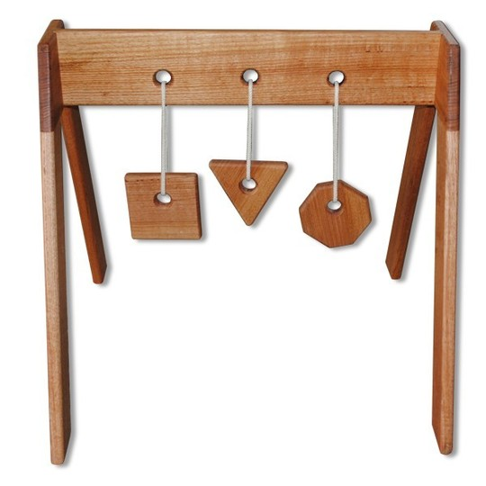 Eco Friendly Wooden Baby Gym: Eco Dad Creations ($149)