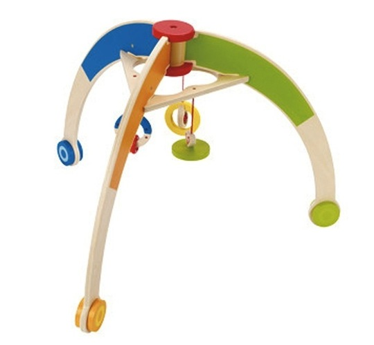 Wooden Baby Gym: Q Toys ($56.95)