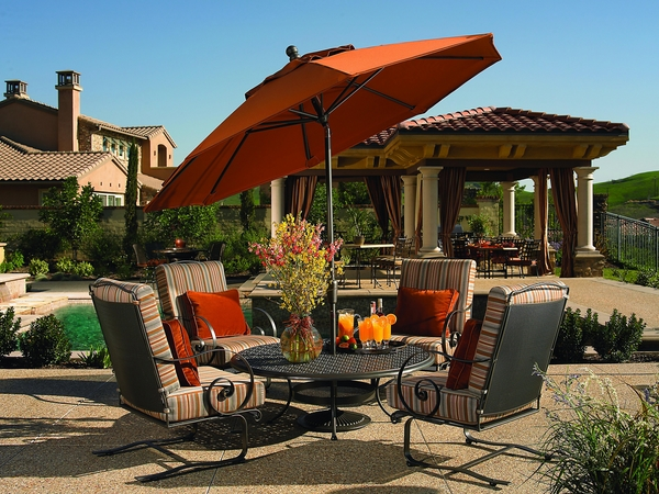 luxury-wrought-iron-patio-furniture-set-comfortable-armchairs-low-table
