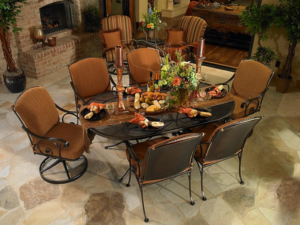 patio-dining-set-wrought-iron-furniture-oval-table-armchairs