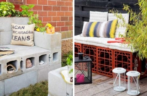 Concrete-blocks-DIY-garden-furniture-padding
