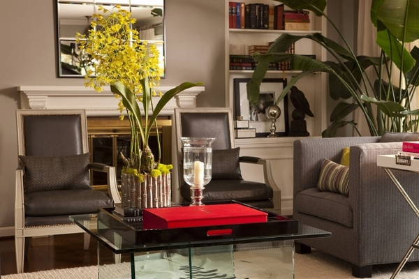 benefits-of-houseplants-trends-furniture-fresh-flowers-yellow-red-accent