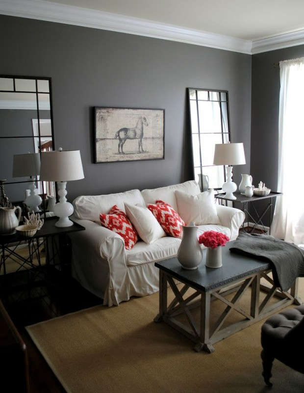 grey-and-coral-home-decor-ideas-15
