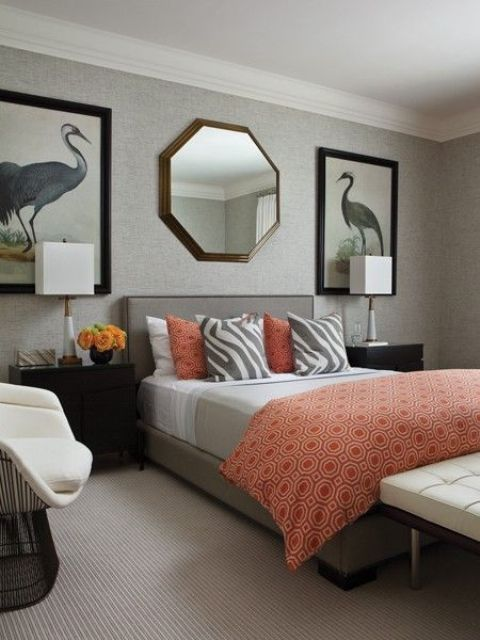 grey-and-coral-home-decor-ideas-30