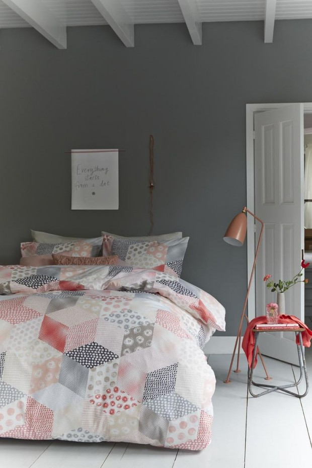grey-and-coral-home-decor-ideas-32