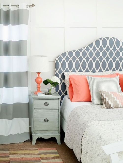 grey-and-coral-home-decor-ideas-7