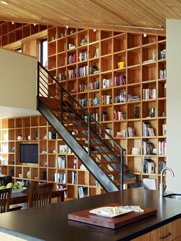 large-wall-bookshelves-ideas-contemporary-home-interior-staircase