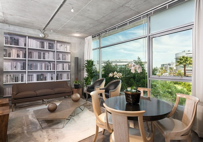 eclectic-dwell-loft-in-chocolate-beige-and-grey-2