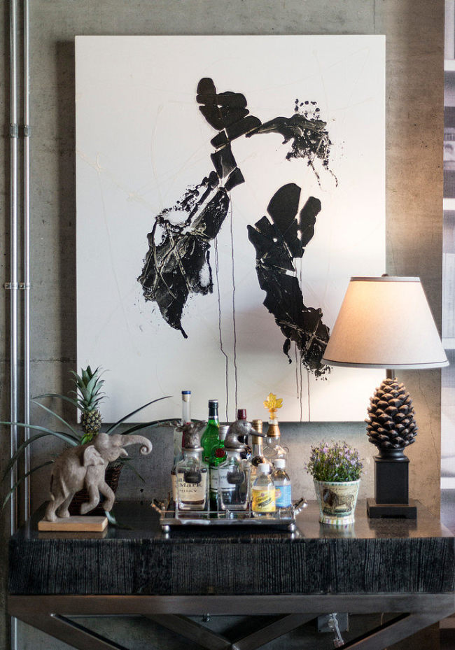 eclectic-dwell-loft-in-chocolate-beige-and-grey-4