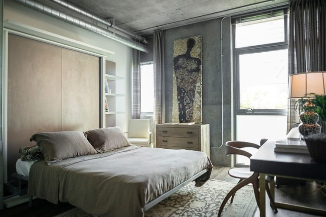 eclectic-dwell-loft-in-chocolate-beige-and-grey-8