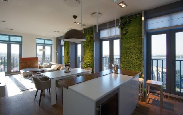 eclectic-elegant-apartment-with-green-walls-4