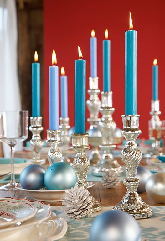 charming-silver-and-blue-christmas-decor-ideas-28