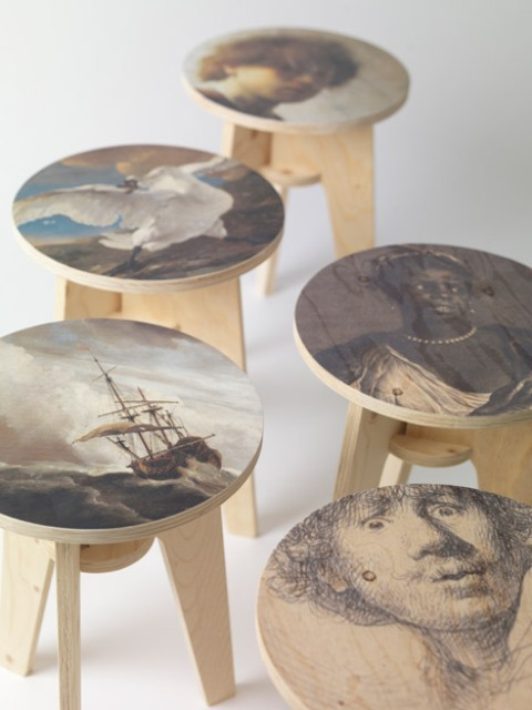 plywood-print-stools-collection-with-dutch-masterpieces-1