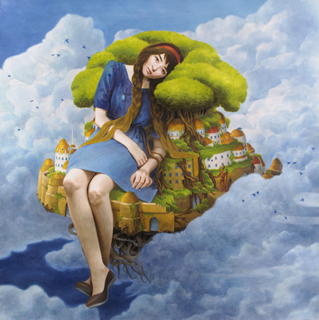 Surreal-Illustrations-of-Young-Women-12