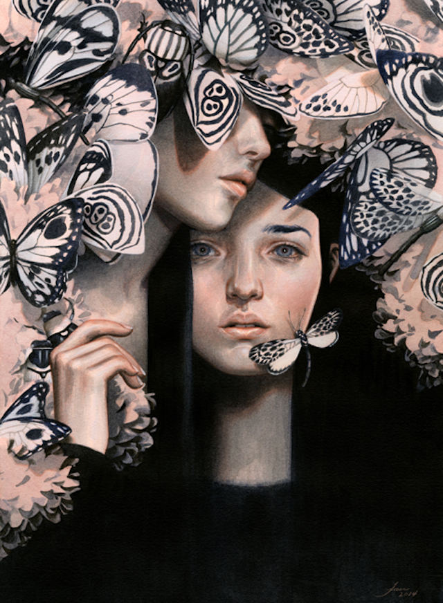 Surreal-Illustrations-of-Young-Women-1b