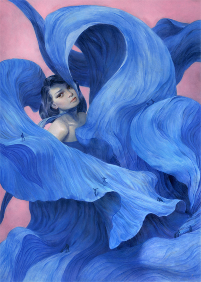 Surreal-Illustrations-of-Young-Women-3