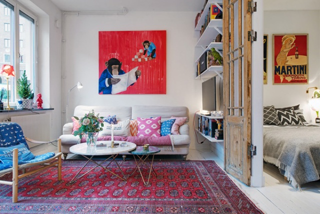 cozy-swedish-apartment-with-a-humorous-character-9