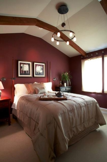 how-to-decorate-your-bedroom-with-marsala-13