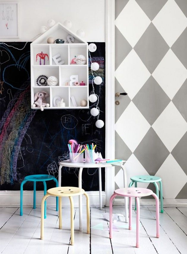 awesome-chalkboard-decor-ideas-for-kids-rooms-21
