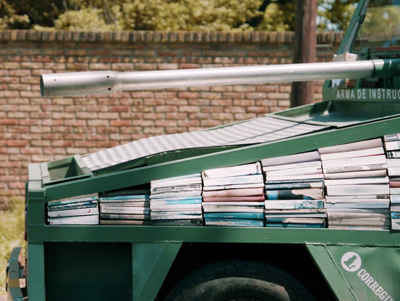 raul-lemesoff-traveling-library-weapons-of-mass-instruction-designboom-09